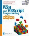 Microsoft WSH and VBScript Programming for the Absolute Beginner - Jerry Lee Ford Jr.