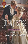 A Most Unsuitable Match - Julia Justiss
