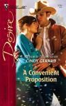 A Convenient Proposition (Silhouette Desire, #1734) - Cindy Gerard