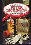 King and Joker (A Hamlyn whodunnit) - Peter Dickinson