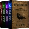 Nevermore, The Complete Series (Boxed Set) (Twin Souls, Hybrid, Sacrifice, and Destiny) - K.A. Poe