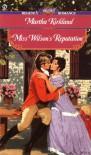 Miss Wilson's Reputation - Martha Kirkland