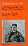 A Daughter of Han: The Autobiography of a Chinese Working Woman - Ida Pruitt, Ning L. T'Ai-T'ai, Ida Pruitt