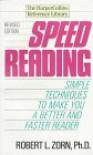Speed Reading - Robert L. Zorn