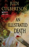An Illustrated Death: A Delhi Laine Mystery - Judi Culbertson