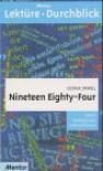 Nineteen Eighty Four. Diverse Umschlagfarben, Unsortiert - Rüdiger Hermes, George Orwell