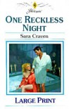 One Reckless Night - Sara Craven