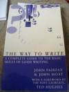 The Way To Write - John Fairfax, John Moat