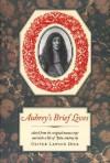 Aubrey's Brief Lives (Nonpareil Books, No 77) - John Aubrey