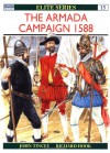 The Armada Campaign 1588 - John Tincey, Richard Hook