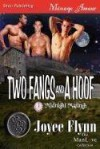 Two Fangs and a Hoof [Midnight Matings] (Siren Publishing Menage Amour ManLove) [Paperback] - Joyee Flynn