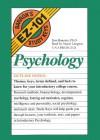 Barron's Ez 101 Study Keys: Psychology (Barron's EZ-101 Study Keys (Audio)) [UNABRIDGED] - Don Baucum