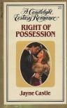Right of Possession (Candlelight Ecstasy, #23) - Jayne Castle, Jayne Ann Krentz
