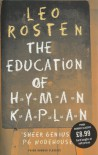 The Education of Hyman Kaplan - Leo Rosten, Leonard Q. Ross