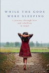 While the Gods Were Sleeping: A Journey Through Love and Rebellion in Nepal - Elizabeth Enslin