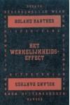 Het werkelijkheidseffect - Roland Barthes, Rokus Hofstede, Jürgen Pieters