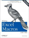 Writing Excel Macros With Vba - Steven Roman