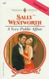 A Very Public Affair - Sally Wentworth