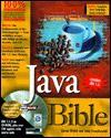 Java Bible [With Contains Internet Explorer 4, JDK 1.1.5, Applets..] - Aaron E. Walsh, John Fronckowiak