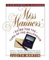 Miss Manners' Guide for the Turn-of-the-Millennium - Judith Martin, Gloria Kamen