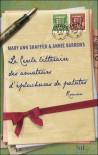 Le cercle littéraire des amateurs d'épluchures de patates (Broché) - Mary Ann Shaffer, Annie Barrows
