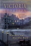 Murder on Marble Row (A Gaslight Mystery, #6) - Victoria Thompson