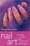 Nail Art - Pansy Alexander