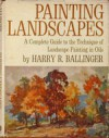 Painting landscapes - Harry Russell Ballinger