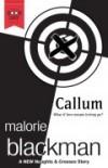 Callum - Malorie Blackman