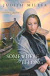 Somewhere to Belong (Daughters of Amana, Book 1) - Judith Miller