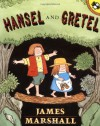 Hansel and Gretel (Picture Puffins) - James Marshall, Jacob Grimm