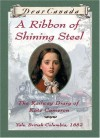 A Ribbon of Shining Steel: The Railway Diary of Kate Cameron - Julie Lawson