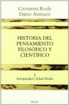 Historia Del Pensamiento Filosófico Y Científico: Tomo Primero: Antigüedad Y Edad Media - Giovanni Reale