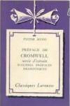 PRÉFACE DE CROMWELL suivie d'extraits d'autres préfaces dramatiques - Victor Hugo
