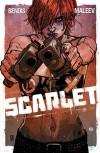 Scarlet #1  - Brian Michael Bendis, Alex Maleev