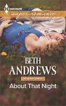 About That Night (Harlequin Large Print Super Romance) - Beth Andrews