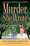 A Slaying In Savannah - Jessica Fletcher, Donald Bain
