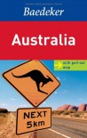 Australia Baedeker Guide - Various Map Artist