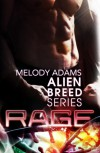 Rage (Alien Breed Series 1) - Melody Adams