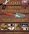 1,001 Old-Time Household Hints: Timeless Bits of Household Wisdom for Today's Home and Garden -