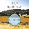 Death of a Macho Man - M.C. Beaton, Shaun Grindell
