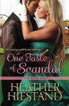One Taste of Scandal - Heather Hiestand
