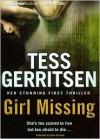 Girl Missing - Tess Gerritsen,  Read by Susan Ericksen