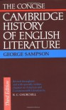 The Concise Cambridge History of English Literature - George Sampson