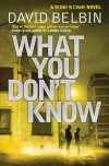 What You Don't Know (Bone & Cane 2) - David Belbin