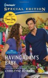 Having Adam's Baby - Christyne Butler