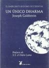 Unico dharma un - J. Goldstein