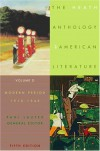 The Heath Anthology of American Literature: Volume D: Modern Period (1910-1945) - Paul Lauter, King-Kok Cheung, Jackson R. Bryer, Charles Molesworth, Richard Yarborough