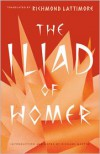 The Iliad of Homer - Homer, Richard Lattimore, Richard Martin