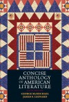 Concise Anthology of American Literature - George L. McMichael, James S. Leonard